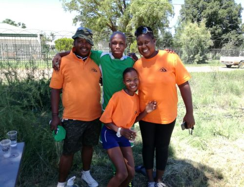 Soccer and preparing food (Eye for Others South Africa)