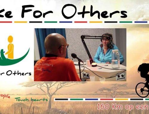 Bike For Others op de radio