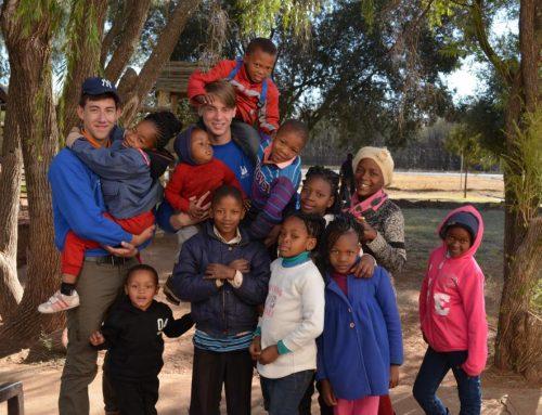 Walterbosch in Afrika…