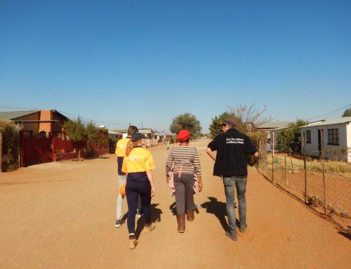 Dag8: voedsel uitdelen in township