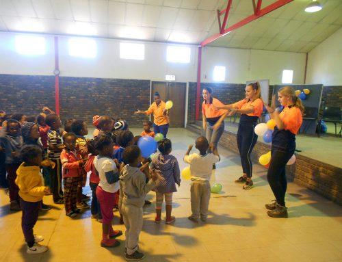 Dag4: kinderwerk in een township…