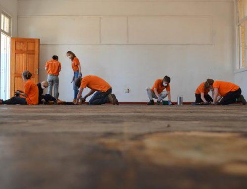 Video: aan het werk in Ritchie