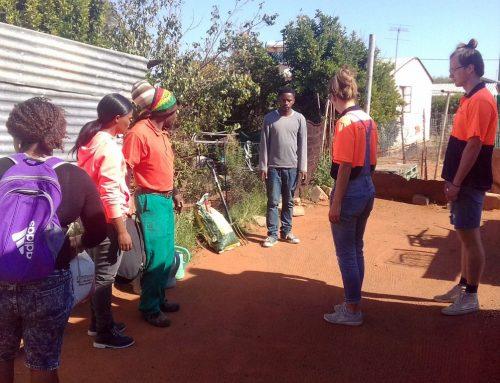 Blog3 Emma: duurzaam werk in het township…
