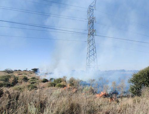 Antoinette in Zuid Afrika blog 7: Brand & Veiligheid