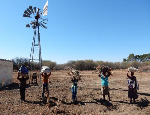 Antoinette in Zuid Afrika blog 5: Cookstoves